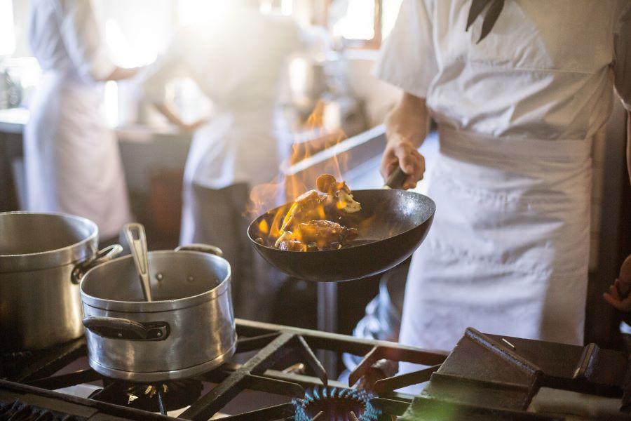 Kuhinja u restoranu