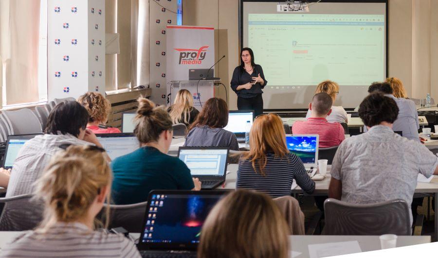 Sonja Jovic na predavanju
