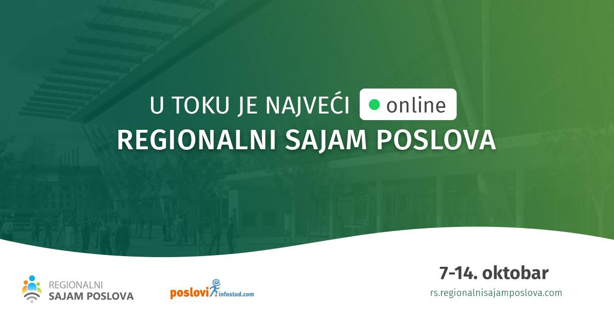 XI regionalni online sajam zapošljavanja - poslovi.infostud.com
